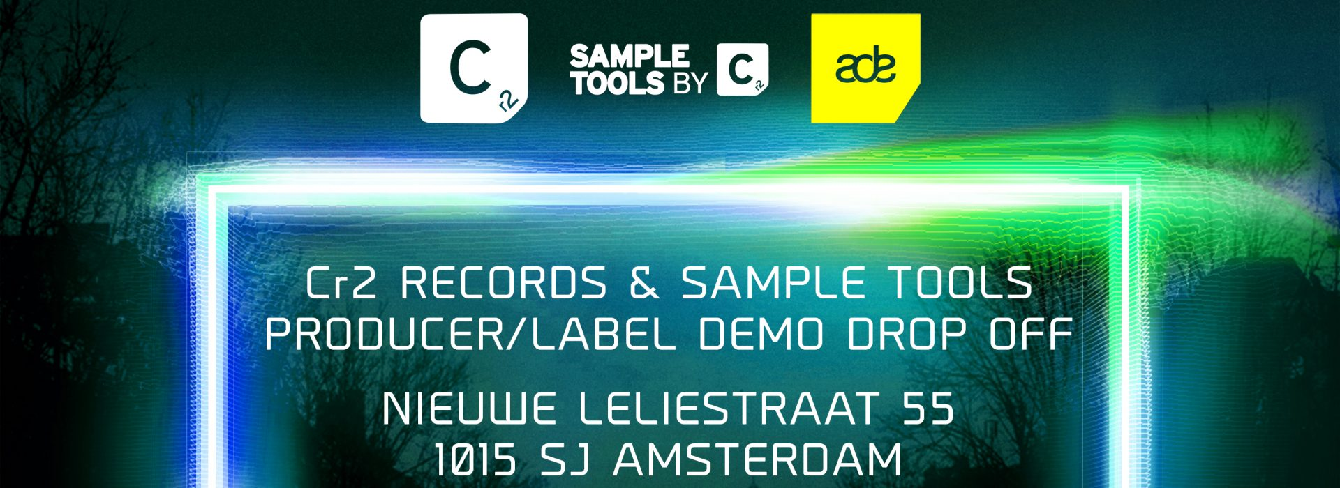ADE 2016 – Cr2 Records & Sample Tools Exclusive Producer Demo Drop Off!