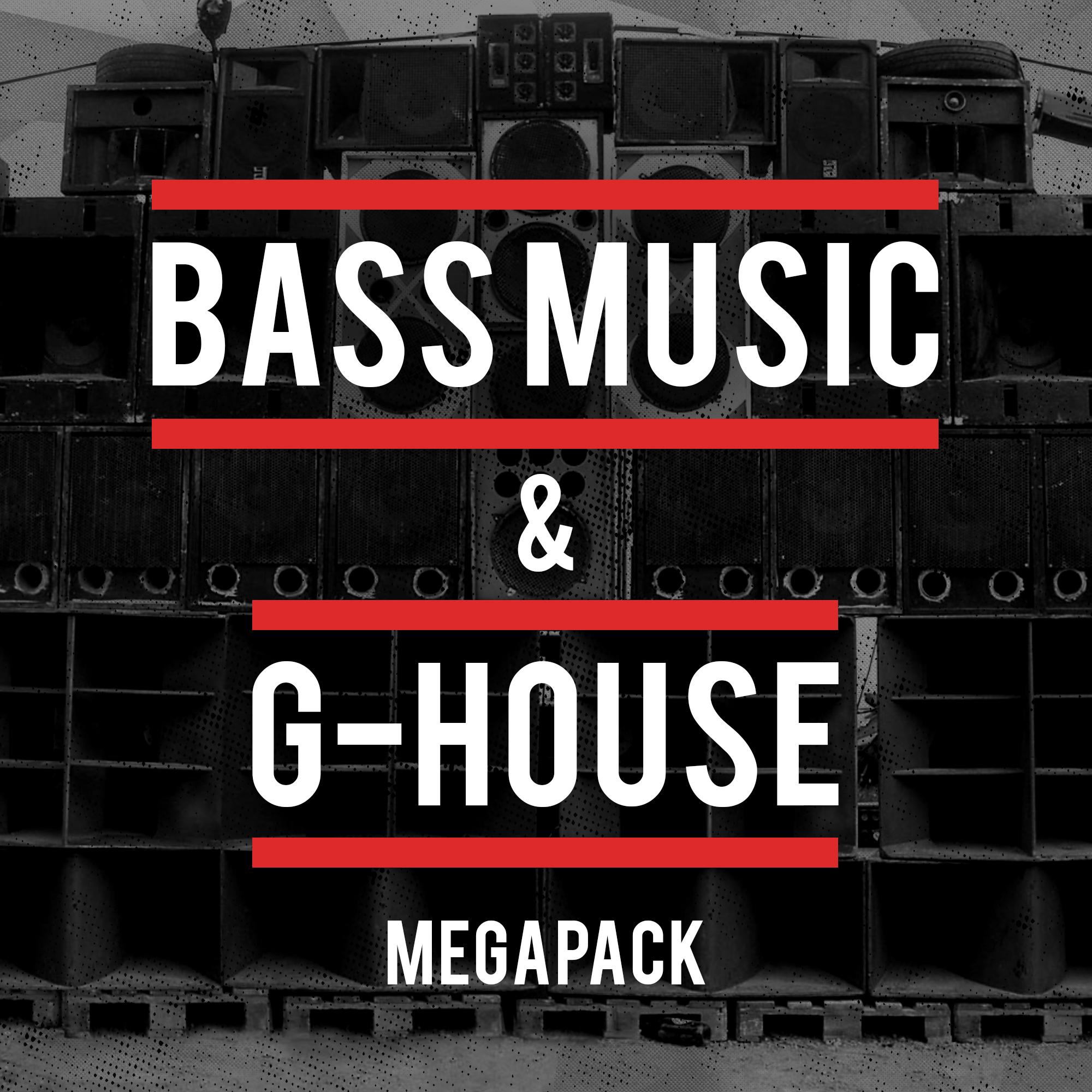 Bass Music & G-House Megapack
