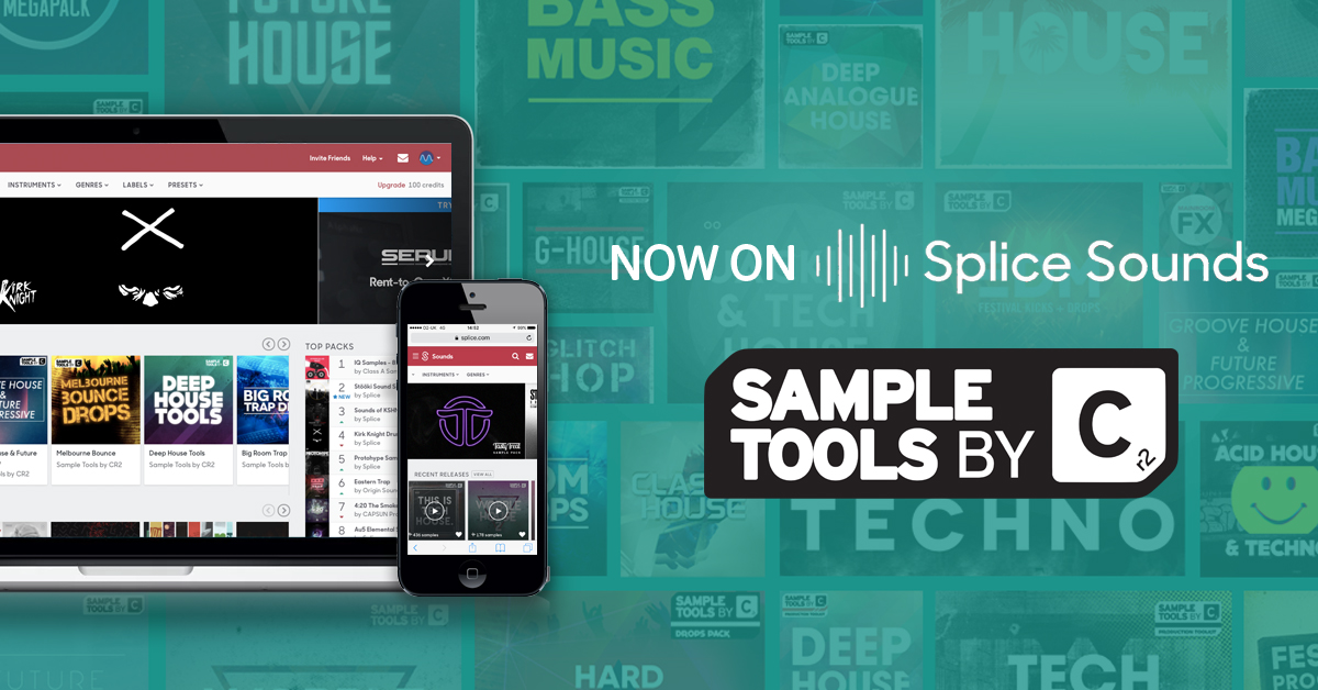 Sample Tools by Cr2 is now officially available on Splice!